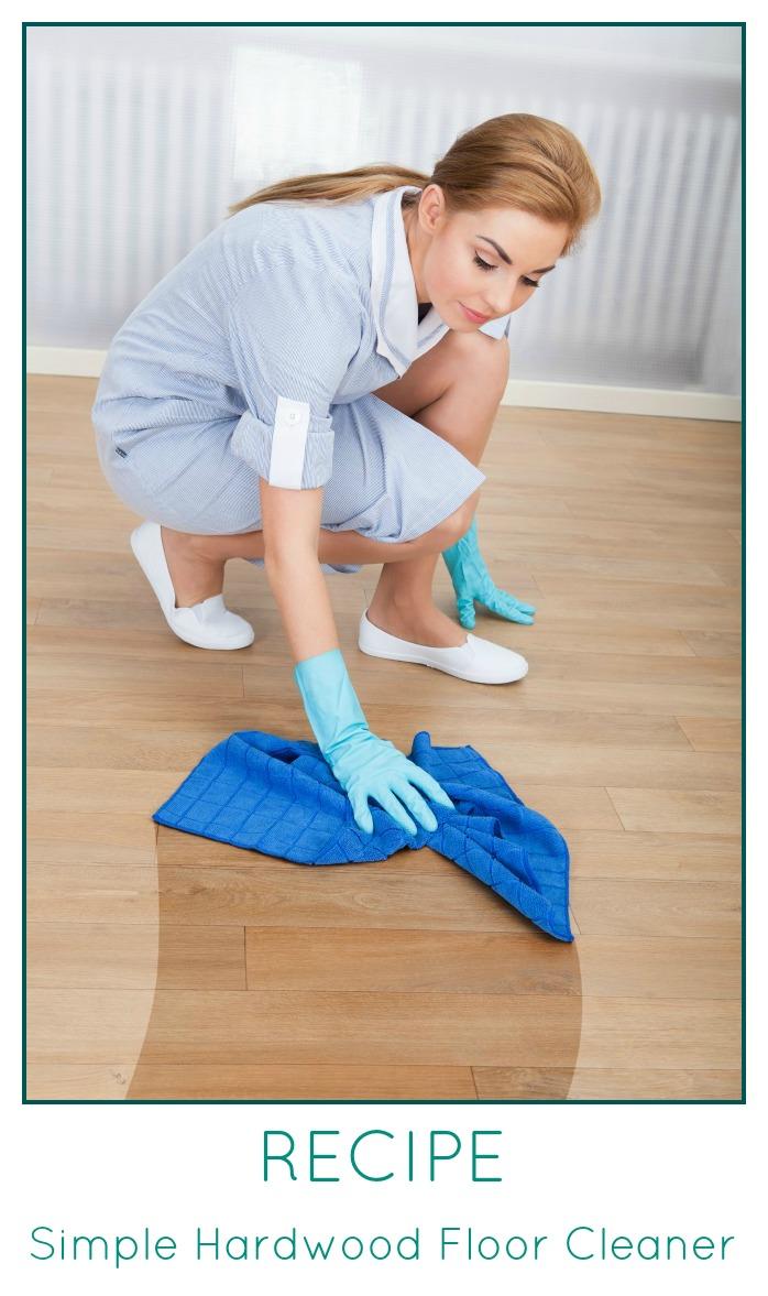 Hardwood Floor Cleaner Recipe