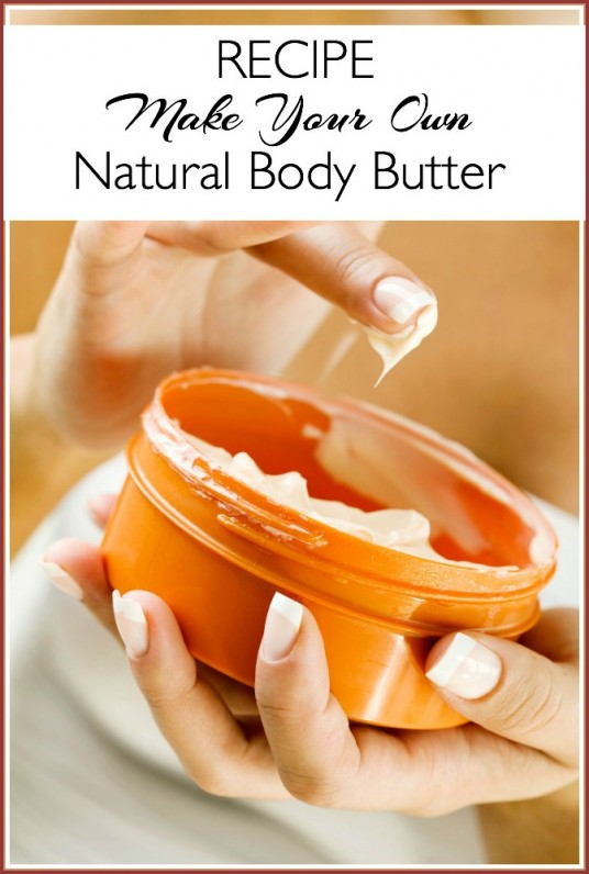 body butter recipe