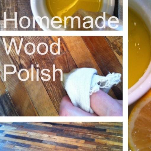homemade wood polish