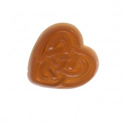 ENTWINED organic heart shape soap diva scent