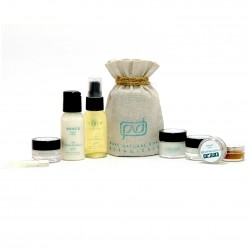Vegan Organic Skincare Travel Set